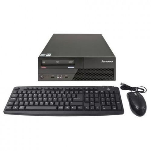 PC Lenovo Thinkcentre M58 Desktop, Intel Core2Duo E7400, 2.8Ghz, 2Gb DDR2, 250Gb HDD, DVD-RW