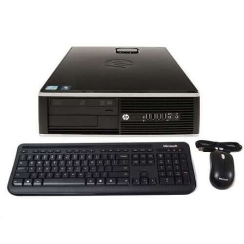 PC second hand HP Compaq Elite 8000 Desktop, Intel E5700 Core Duo, 3.0Ghz, 2Gb DDR3, 160Gb HDD, DVD