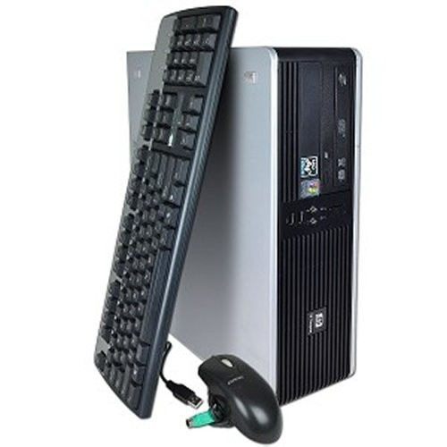 Calculator SH HP DC5750 desktop, Athlon 64 X2 3600+, 2.2GHz, 2 GB DDR2, 160 HDD, DVD-ROM