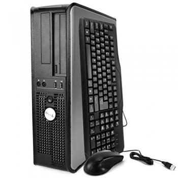 PC Dell Optiplex 380 Desktop,  Core 2 Duo E8500, 3.16Ghz, 2 Gb DDR2, 160Gb HDD, DVD-RW