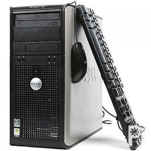 Dell OptiPlex 760 Tower, Intel Core 2 Quad Q9400, 2.66Ghz, 4GbDDR2, 250Gb, DVD-ROM