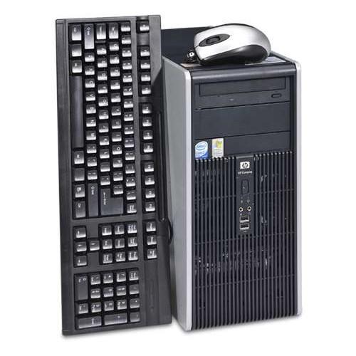Calculator HP DC5700 Tower, Core 2 Duo E6300 1.86Ghz, 2Gb DDR2, 160 GB SATA, DVD