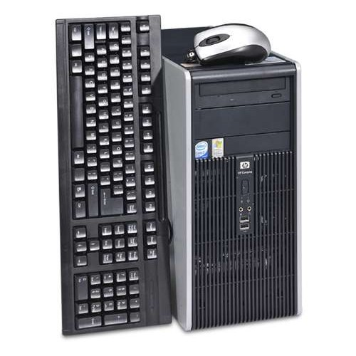 Calculator HP DC5800 Tower, Core 2 Duo E6550 2.33Ghz, 2Gb DDR2, 160 GB SATA, DVD