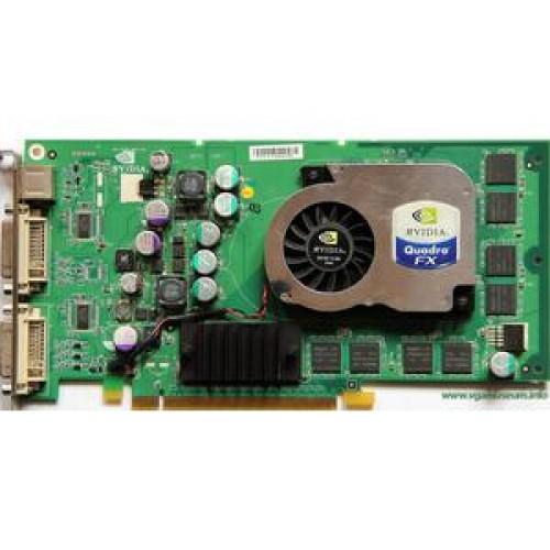 Placa Video SH Nvidia Quadro FX 1300, 128Mb, PCI-Express x16, 256-bit, Dual DVI, 3D Glasses port