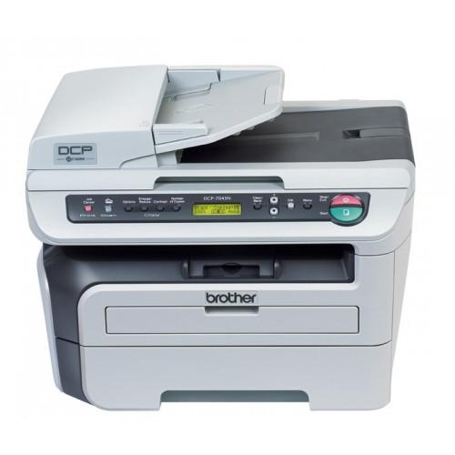 Multifunctional Laser Brother DCP-7045N, Monocrom, USB 2.0, Retea, Scanare, Copiere