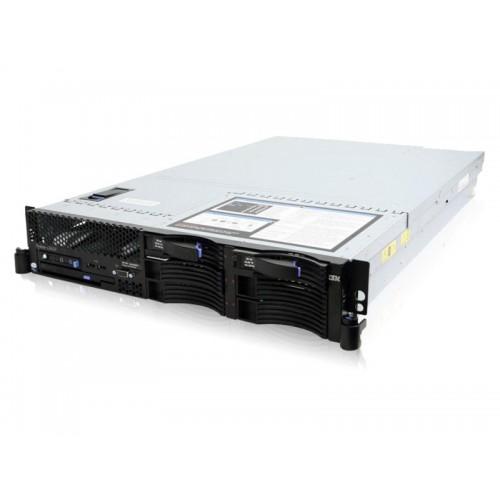 Servere Stocare IBM X3650 M1, 2x Xeon Quad Core E5430 2.66Ghz, 8Gb DDR2 FBD 2x 73Gb SAS