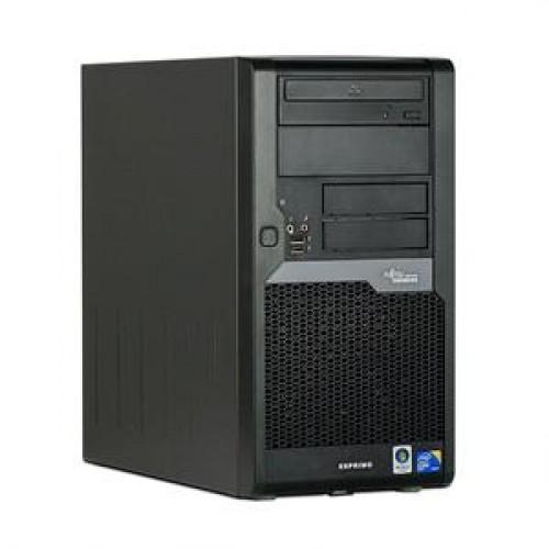 Calculator Ieftin Fujitsu Esprimo P5730, Intel Core 2 Duo E8400, 3.0Ghz, 160Gb, 4Gb DDR2, DVD-RW