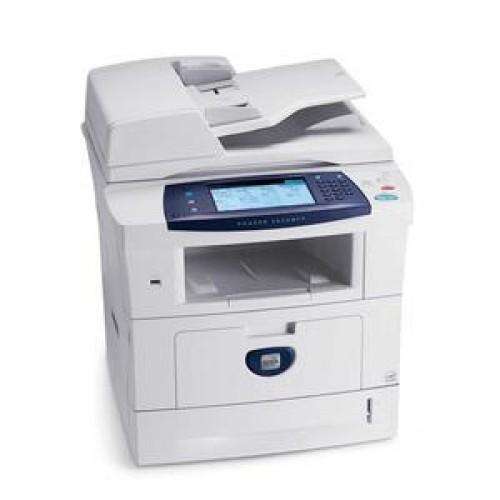 Xerox 3635 MFP, Laser Monocrom, Retea, USB, Copiator, Duplex, Touch Screen, Scaner