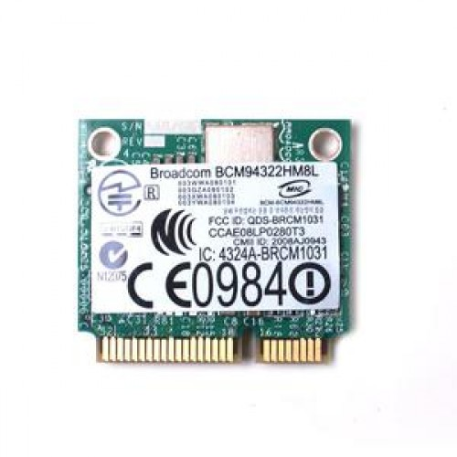 Placa Wi-FI Broadcom BCM94322HM8L, PCi Express Mini Card