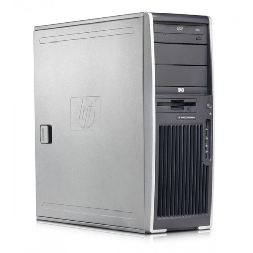 Workstation Second Hand HP XW6200, 2 X XEON 3.2 Ghz, 4Gb DDR2 ECC, 80Gb SATA, CD-ROM, NVIDIA QUADRO NVS 285