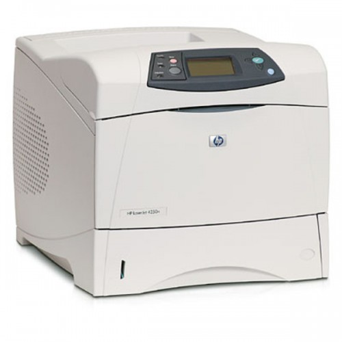 HP LaserJet 4250dtn, Laser, Monocrom, 45ppm, DUplex, Tava, Retea
