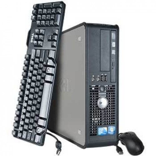 Sistem PC Dell Optiplex 780 desktop Intel Core2Duo E7300 2.66GHz, 2GbDDR3, 160GbHDD, DVD