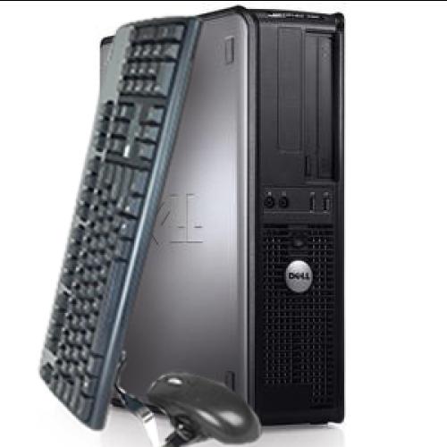 Computer second hand Dell Optiplex 755, Desktop, Intel Core Duo E5800, 3,20GHz, 4GB DDR2, 250GB HDD, DVD-RW ***