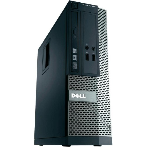 Unitate PC SH Dell OptiPlex 390, Intel Core i3-2100, 3.1Ghz, 4Gb DDR3, 250Gb HDD, HDMI