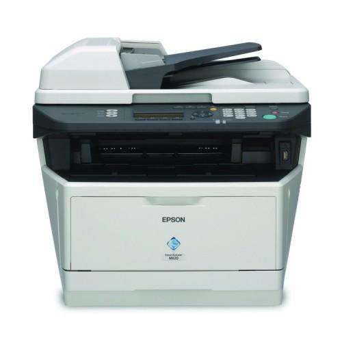 Impirimanta Multifunctionala EPSON MX 20, 28 ppm, Fax, Duplex, Retea, USB, 1200 x 1200, Laser, Monocrom, A4