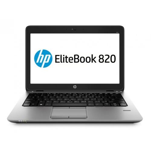 Laptop Refurbished HP Elitebook 820 G2, Intel Core i7-4600U 2.10GHz, 8GB DDR3, 500GB SATA, Webcam, 12 Inch + Windows 10 Home