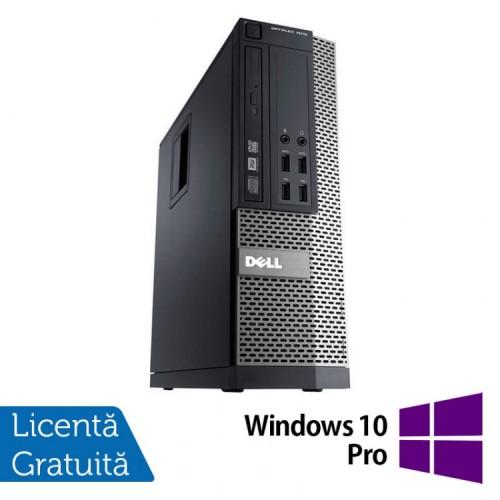 PC DELL 3020 SFF, Intel Core i5-4590 3.30 GHz, 8 GB DDR3, 500GB SATA, DVD-RW + Windows 10 Pro