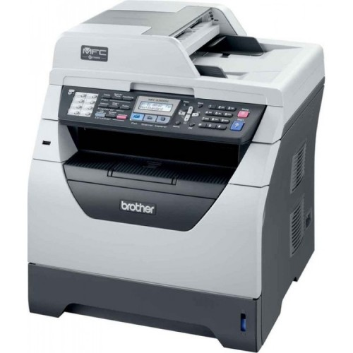 Imprimanta SH Multifunctionala Brother MFC-8380DN, 30 PPM, 1200 x 1200 DPI , Duplex, Retea, A4, Monocrom