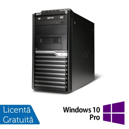 PC Acer Veriton M430G, AMD Athlon II X2 260 3.2 GHz, 4Gb DDR2, 250GB SATA, DVD-RW + Windows 10 Pro