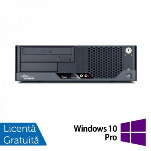 Fujitsu Refurbished Esprimo E7936, Intel Core 2 Duo E8400 3.00GHz, 4Gb DDR3, 160Gb HDD, DVD-ROM + Windows 10 Pro