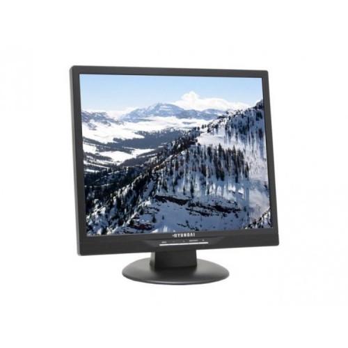 Monitor SH HYUNDAI T91D, 19 inch LCD, 1280 x 1024, DVI, Boxe Integrate