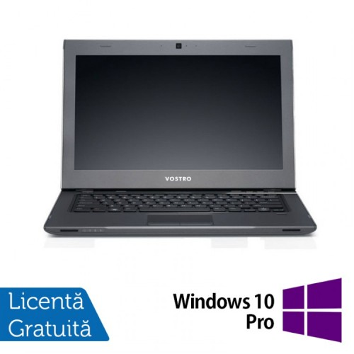 Laptop Dell Vostro 3360, Intel i5-3317U, 1.7Ghz, 13.3 inch LED, 8Gb DDR3, 320Gb SATA + Windows 10 Pro