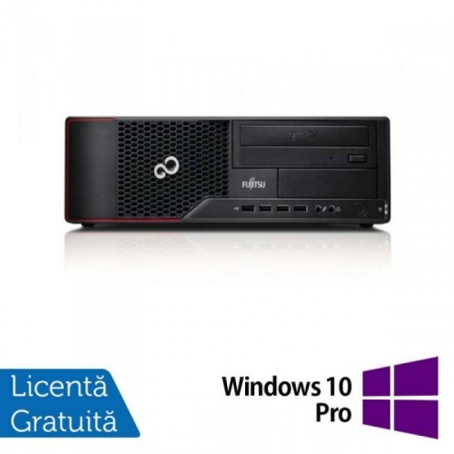 PC FUJITSU SIEMENS E700, Intel Core i3-2100 3.10GHz, 4GB DDR3, 500GB SATA, DVD-RW + Windows 10 Pro