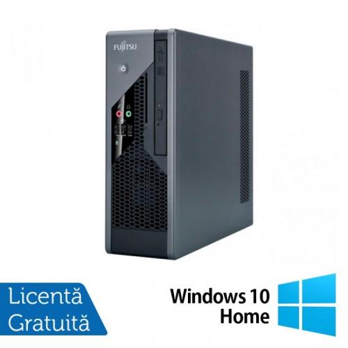 PC Refurbished Fujitsu Siemens Esprimo C5731 SFF, Intel Core 2 Duo E8400 3.00Ghz, 2Gb DDR3, 250Gb HDD, 2x Serial + Windows 10 Home