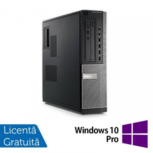 PC DELL GX790 Desktop, Intel Core i3-2120 3.30 GHz, 4 GB DDR 3, 250GB SATA, DVD-RW + Windows 10 Pro