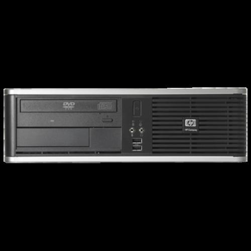 Calculator Refurbished HP DC7900 SFF, Intel Core 2 Duo E8400 3.00GHz, 4GB DDR2, 160GB SATA, DVD-ROM + Windows 10 HOME