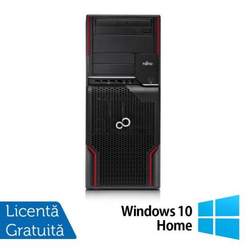 Workstation Refurbished FUJITSU CELSIUS W510, Intel Core i5-2400S 2.5GHz - 3.3GHz, 4GB DDR3, 250 GB HDD, DVD-ROM + Windows 10 Home
