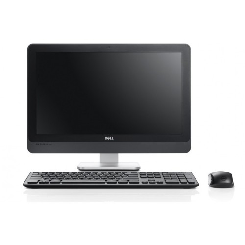 All In One Second Hand DELL 9010, 23 inch, Intel Core i5-3570s 3.10GHz, 4GB DDR3, 250GB SATA, Webcam, Tastatura + Mouse Cadou