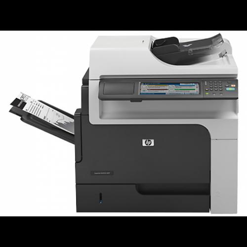 Multifunctionala Second Hand HP M4555F MFP, 55 PPM, Duplex, Retea, USB, 1200 x 1200, Laser, Monocrom, A4, Fara Stand