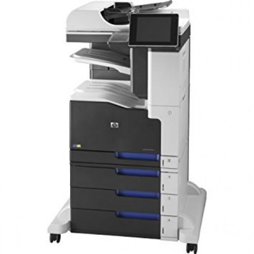 Multifunctionala Second Hand HP LaserJet Enterprise 700 MFP M775, 30 PPM, 600 x 600 DPI, USB, RJ-45, A4, Duplex, Color + Stand cu roti