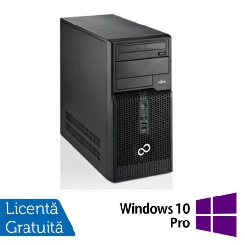 Calculatoare Refurbished Fujitsu Siemens Esprimo P510, Intel Core i5-3470, 3.2GHz, 8GB DDR3, 500GB SATA, DVD-RW + Windows 10 Pro