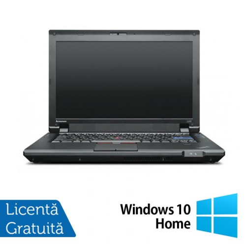 Laptop Refurbished LENOVO L412, Intel Core i5-520M, 2.4GHz, 4Gb DDR3, 250Gb SATA, DVD-RW + Windows 10 Home