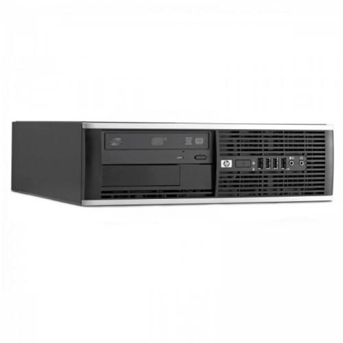 Calculator HP Compaq 6300 PRO SFF, Intel Core i3-2100 3.10 GHz, 4 GB DDR3, 250GB SATA, DVD-RW + Windows 10 PRO