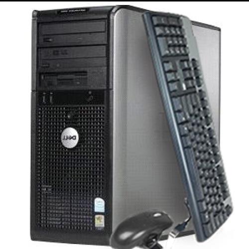 Calculator Dell Optiplex 740 Sh,Procesor Dual Core AMD Athlon 64 X2 4400+ 2.36 GHz,Memorie RAM 2Gb DDR2,HDD 80Gb,Unitate Optica DVD-ROM***