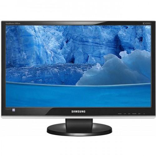Monitoare Second Hand Samsung SyncMaster 2494HM Cu Boxe Integrate, HDMI, Full HD, Grad A