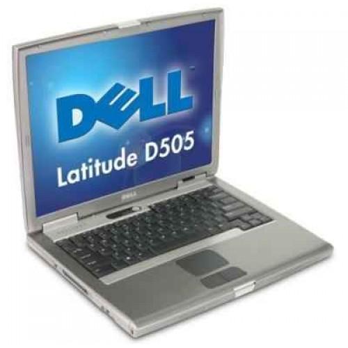 Laptop Dell Latitude D505, Intel Pentium M 1,60GHz , 1GB DDR, 20GB HDD, DVD-ROM 15 inch