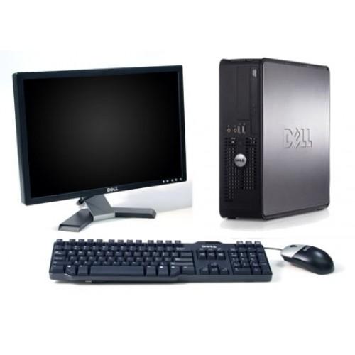 PC Dell Optiplex 380, Intel Pentium Core 2 Duo E8400, 3.0Ghz, 4Gb DDR3, 250Gb HDD,cu Monitor LCD 15 inch ***