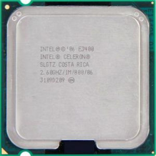 Procesor Intel Celeron E3400, 2.6Ghz, 1Mb Cache, 800 MHz FSB