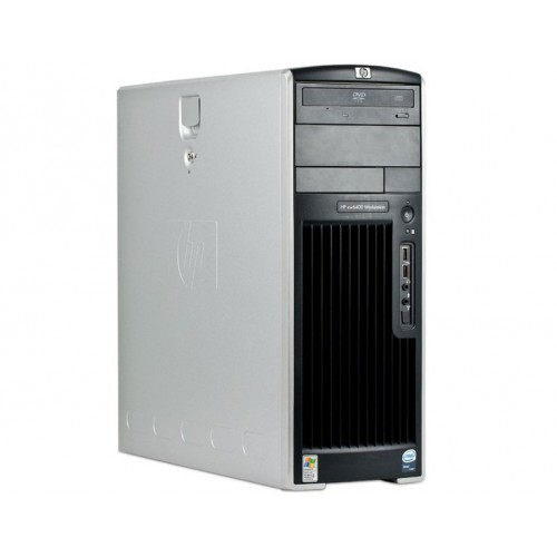Workstation Second Hand HP XW6400, 2 x Intel XEON E5130, 2 GHZ, 4Gb DDR2 ECC, 80Gb SATA, CD-rom, NVIDIA QUADRO NVS 280