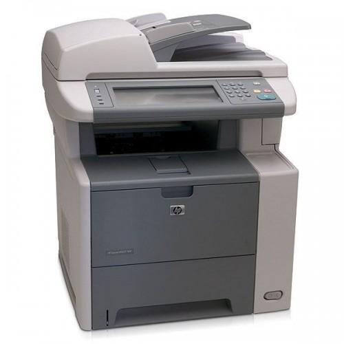 Imprimanta Multifunctionala Laser HP M3027DN, Monocrom, 27 ppm, Scanner, Copiator, Fax, USB defect, Retea, Duplex