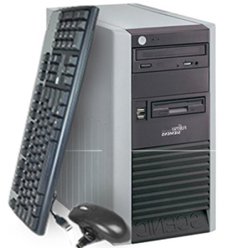 Unitate PC Fujitsu Scenic P320, Tower, Intel Pentium 4 3.0GHz, 1GB DDR, 80GB HDD, DVD-ROM ***
