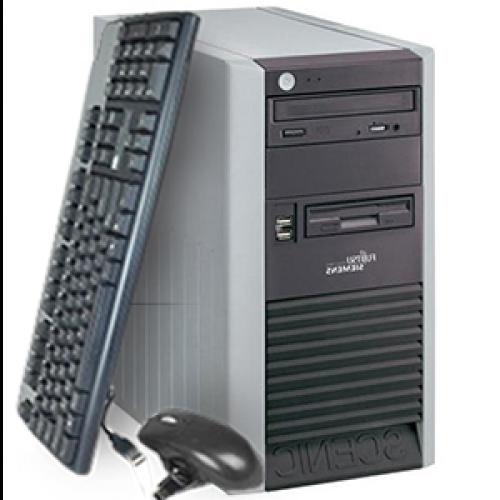 Unitate PC Fujitsu Scenic P320, Tower, Intel Pentium 4 3.0GHz, 1GB DDR, 80GB HDD, DVD-ROM ***
