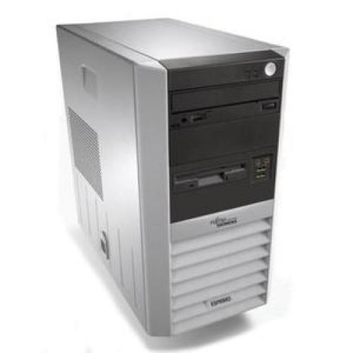 Calculator FUJITSU P5615 Tower, AMD Sempron 3200 1.8 GHz, 1 GB DDR 2, 80GB SATA, DVD-RW