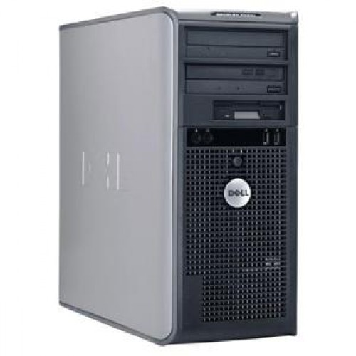 Calculator Dell Optiplex 745 Tower, Core 2 Duo E4300, 1.8Ghz, 2Gb DDR2, 80Gb SATA, DVD-RW