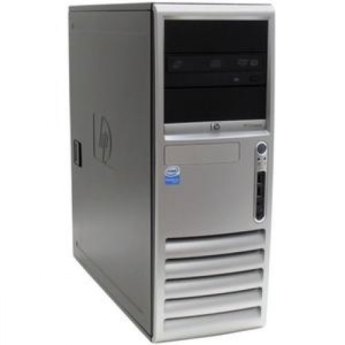 Calculator HP Compaq DC7600 Tower, Intel Pentium 4, 3.2 GHz, 1GB DDR2, 80GB SATA, DVD-RW