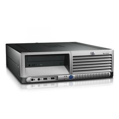 Calculator HP DC7700 SFF, Intel Core 2 Duo E6300, 1.86 GHz, 4GB DDR2, 80GB SATA, DVD-RW